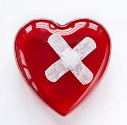τραυματισμενη καρδια